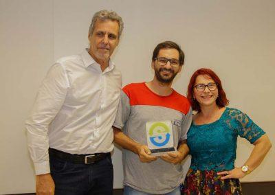 Vencedor Melhor Aluno da Escola do Plastico