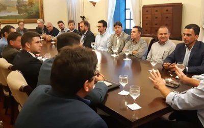 Sindicato cumpre agenda com Sebrae-ES, Findes e Governo do Estado