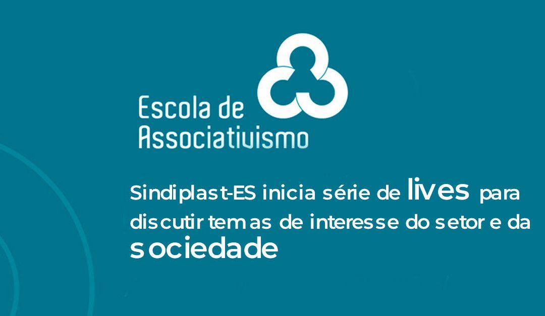 Sindiplast-ES inicia série de lives para discutir temas de interesse do setor e da sociedade