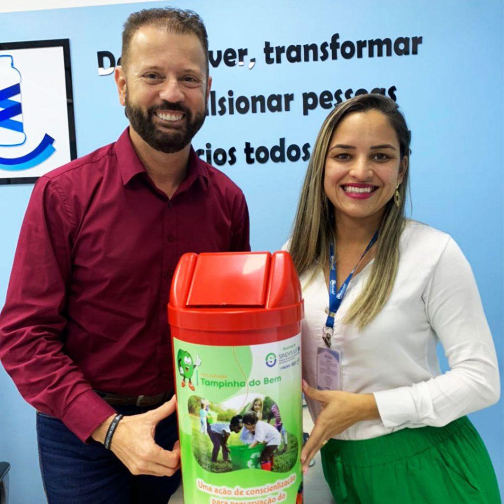 Maifredo Embalagens é a primeira indústria a implantar Programa Tampinha do Bem